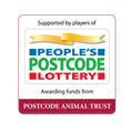 We are supported by People's Postcode Lottery - Animal Trust