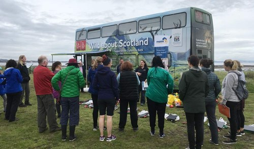 Wild about Scotland Beach Clean